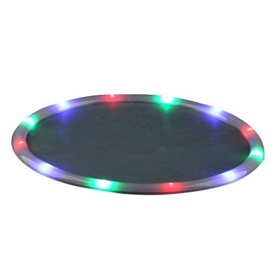 LED Serving Tray Multicolor Light Up Housewares