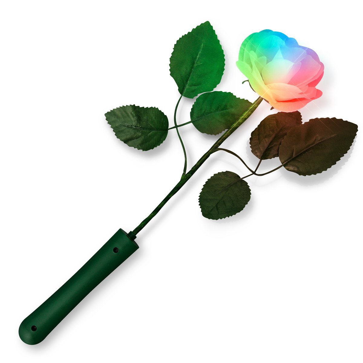 Multicolor Light Up Rose White Petals All Products