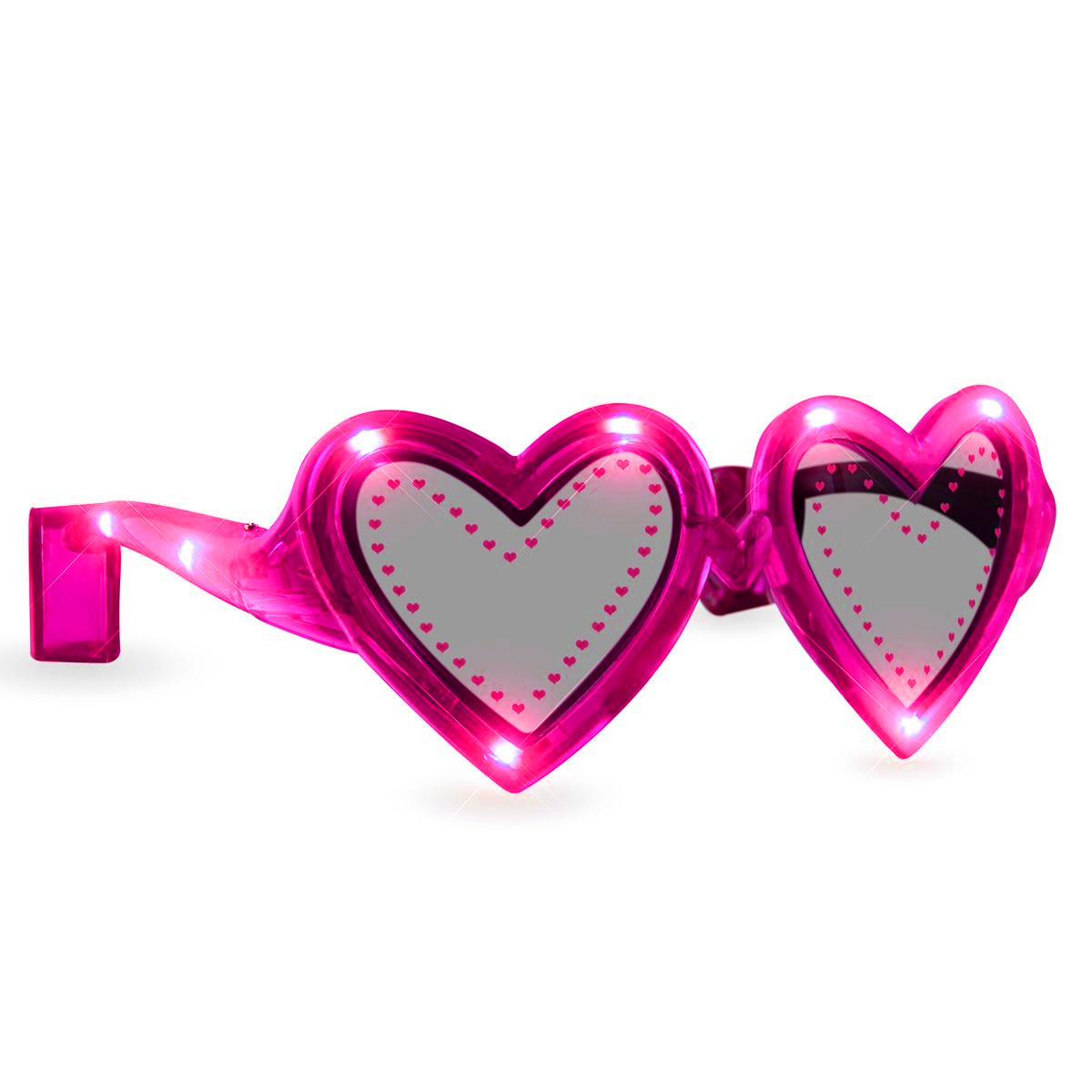 Pink Heart LED Sunglasses All Products