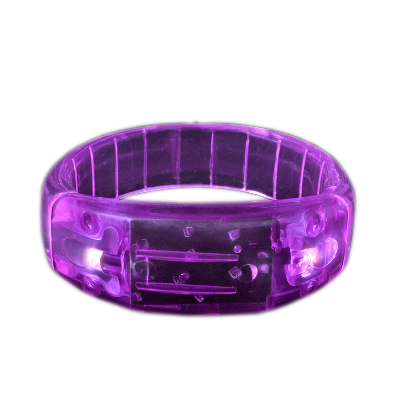 Fashion LED Bracelet Purple All Products