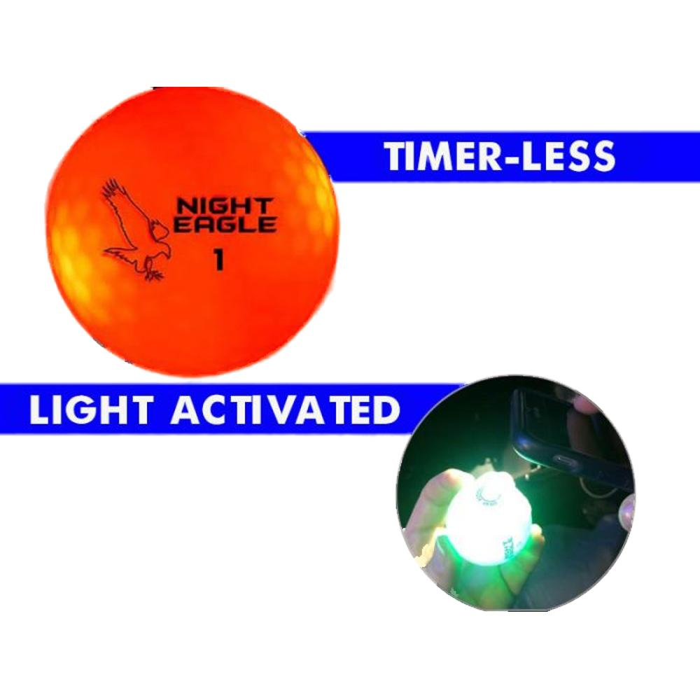 LED Golf Ball Red 1 Unit All Products