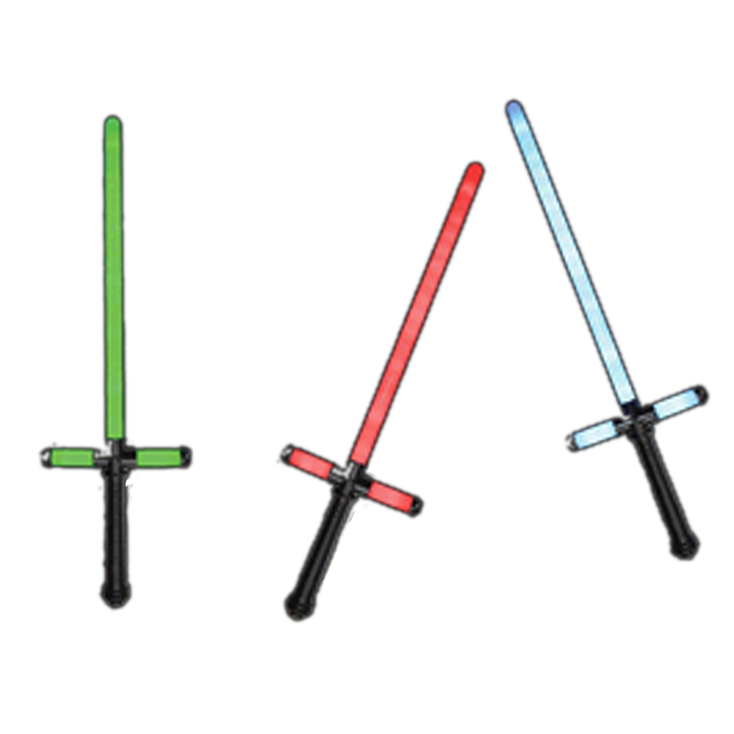 Star Wars Cross Guard Lightsabers Assorted Red Blue Green All Products