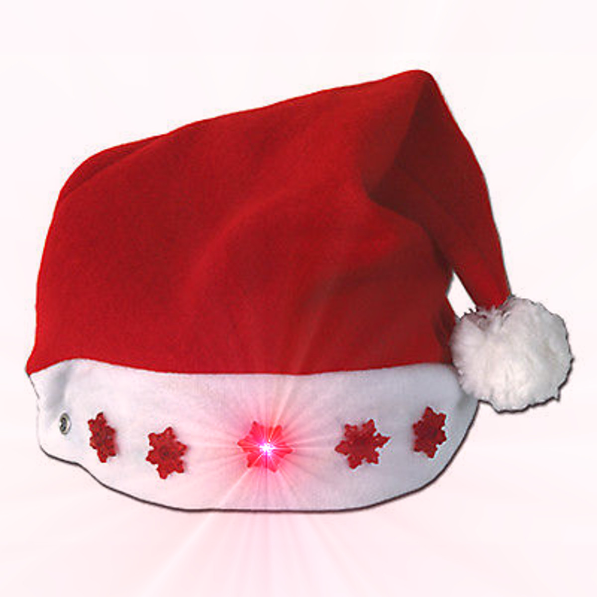 Santa Hat with Snowflakes All Products