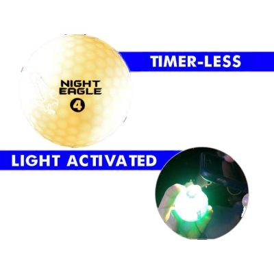 LED Golf Ball White Golf