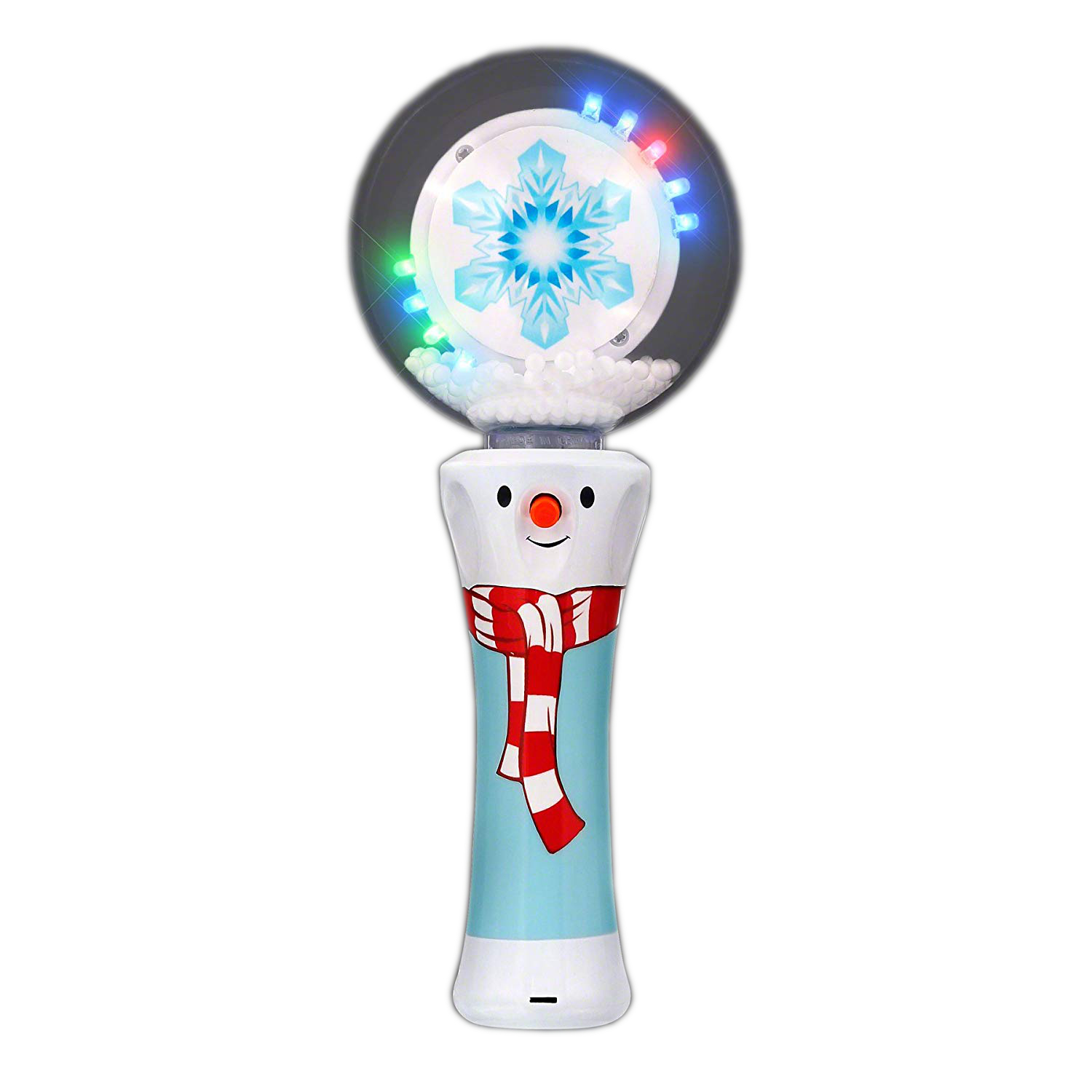 LED Spinning Winter Wonderland Light Up Wand All Products