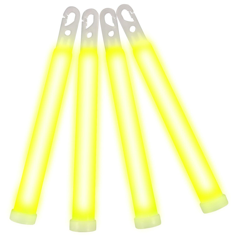 6 Inch Glow Sticks Yellow 6 Inch Glow Sticks