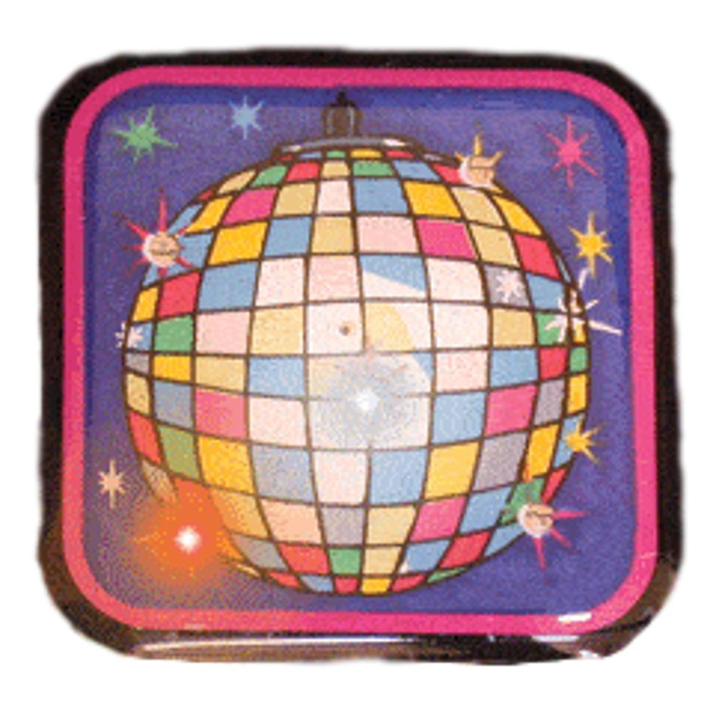 Disco Ball Flashing Body Light Lapel Pins All Products