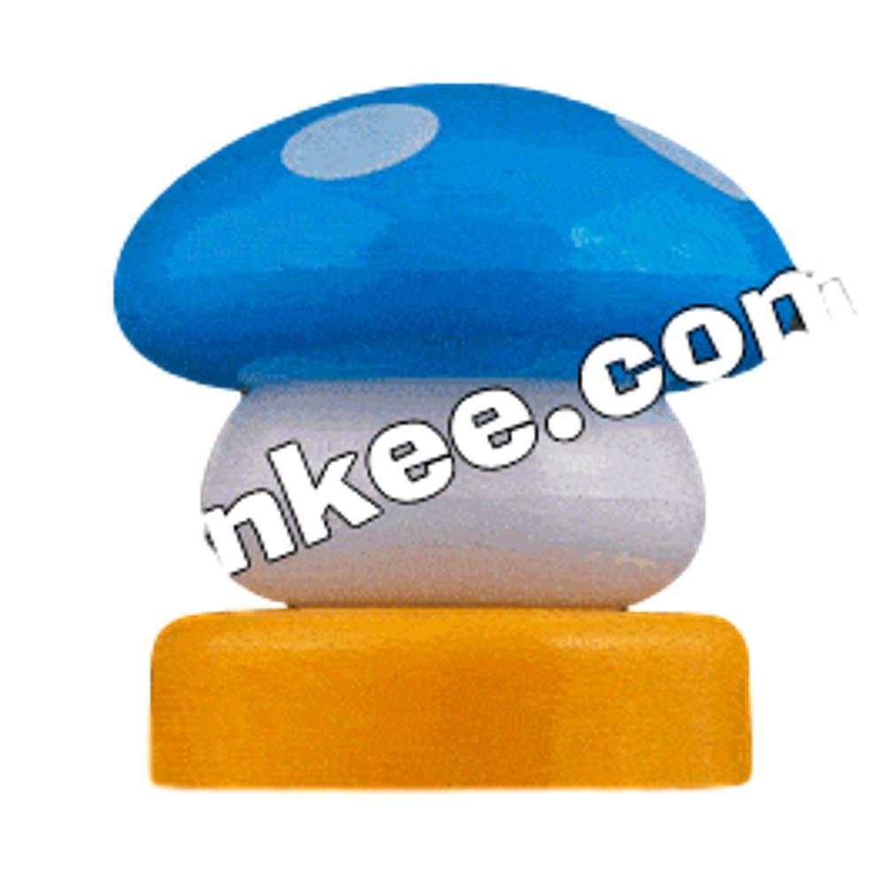 LED Mario Mushroom USB Lamp Blue All Products