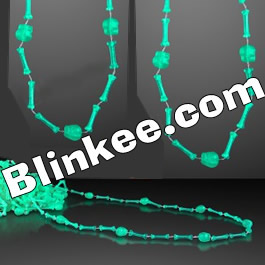 Glow In The Dark Skull and Bones Necklace Pack of 12 All Products
