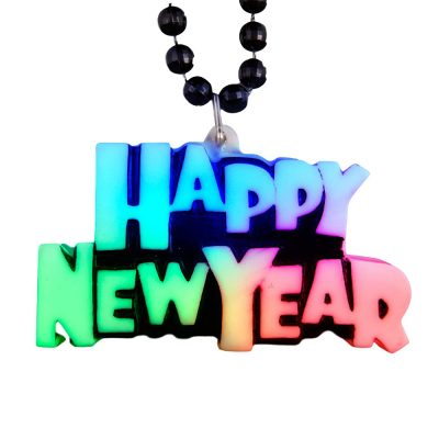 Color Changing Beaded Charm New Year Necklace All Products