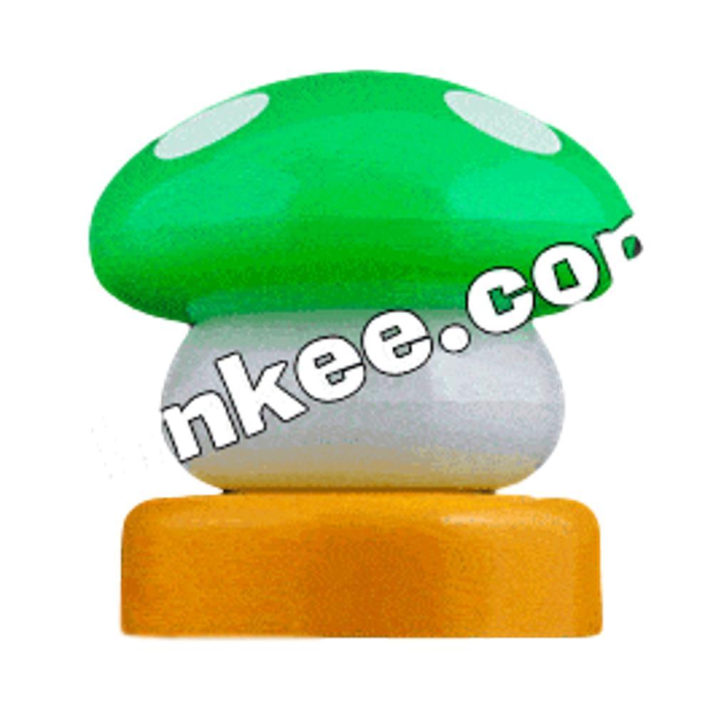 LED Mario Mushroom USB Lamp Green All Products