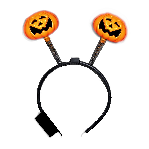 LED Pumpkin Head Boppers Headband All Products