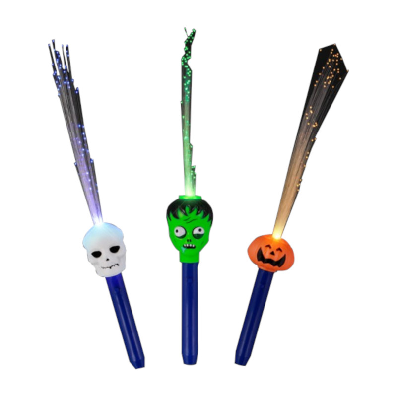 Fiber Optic Halloween Wands All Products