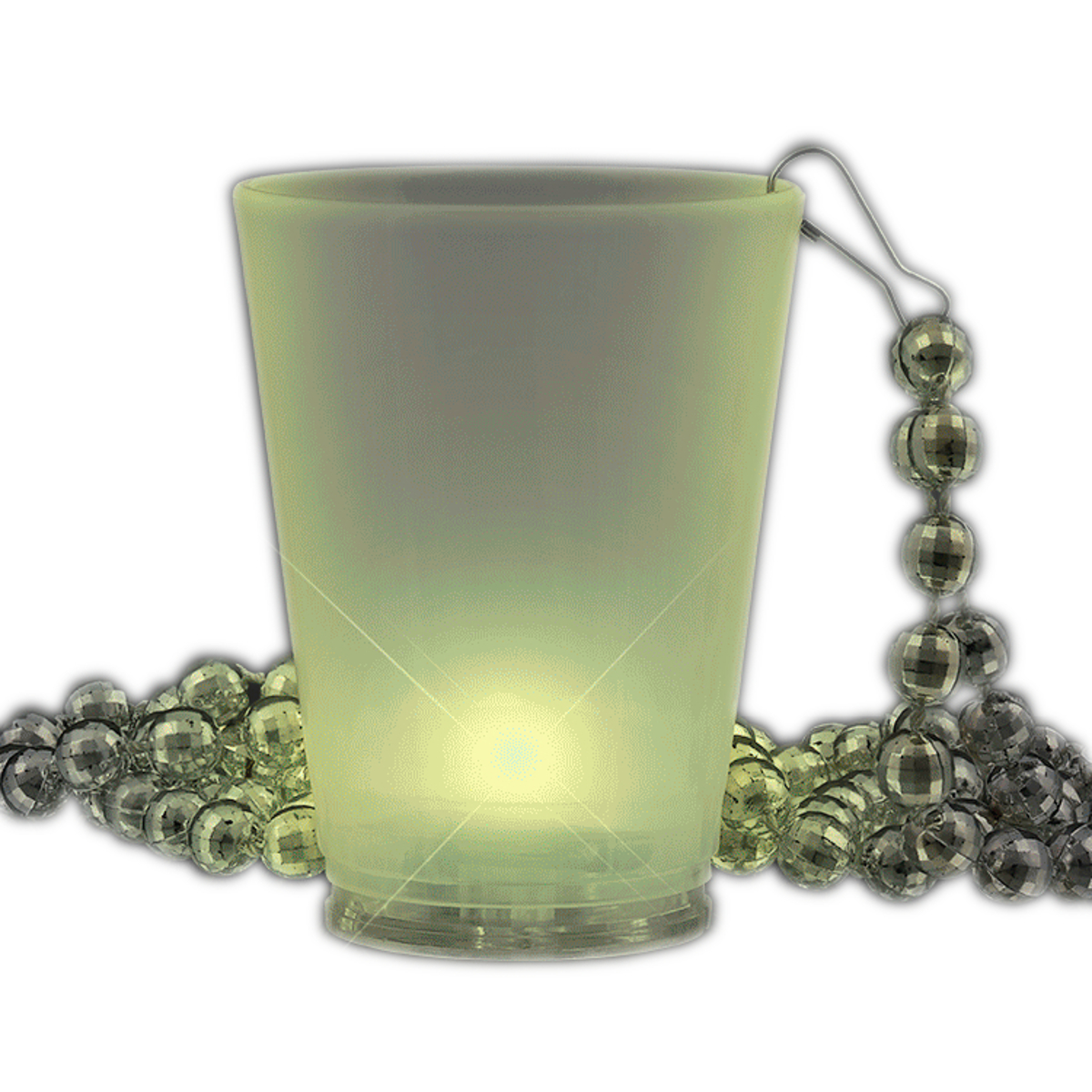 Multi Color LED Beaded Shot Glass Necklaces All Products