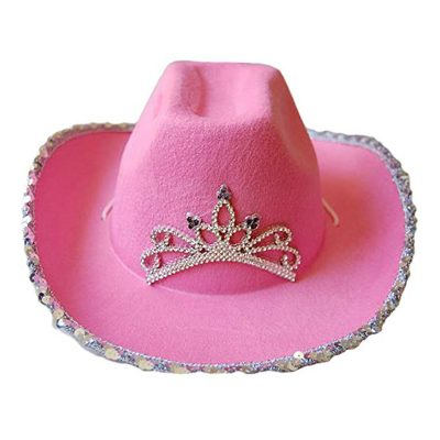 LED Pink Western Hat All Products
