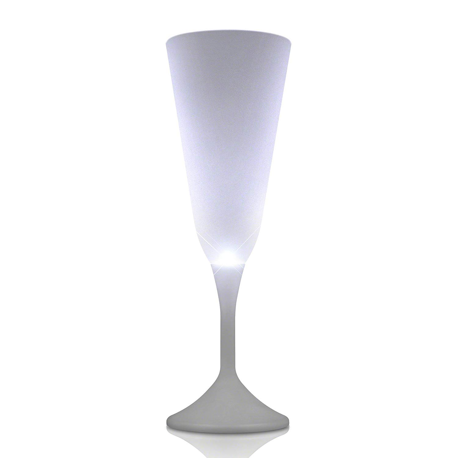 LED Steady White Light Champagne Party Drinking Glass All Products
