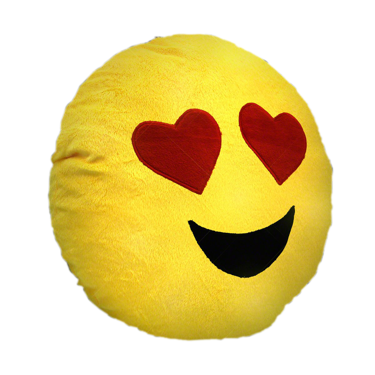 Light Up Emoji Heart Eyes Decrotive Pillow All Products