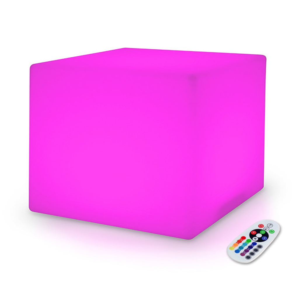 20 Inch Huge LED Color Changing Cube Light Chair Stool Table Furniture All Products