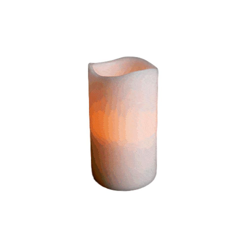Flameless Flickering Remote Control LED Wax Pillar Candle 5 Inch All Products