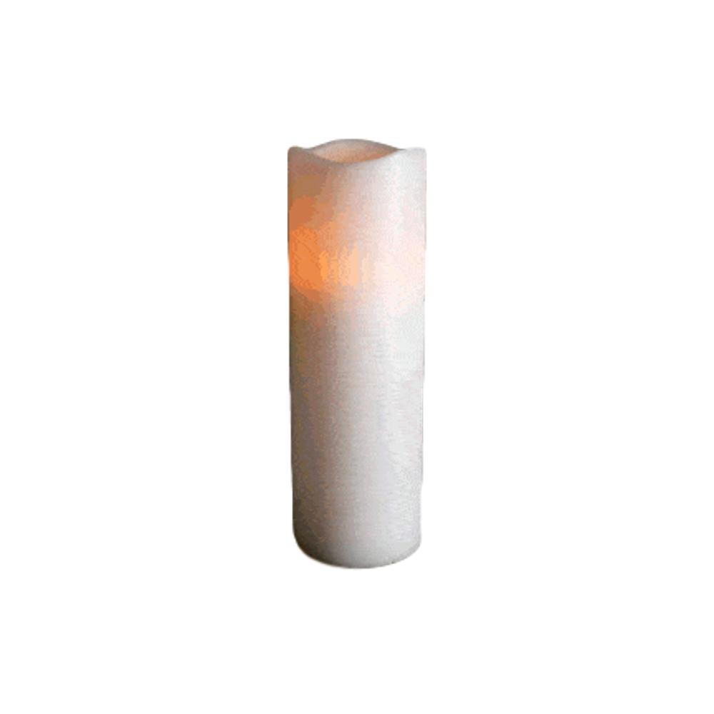 Flameless Flickering Remote Control LED Wax Pillar Candle 9 Inch All Products