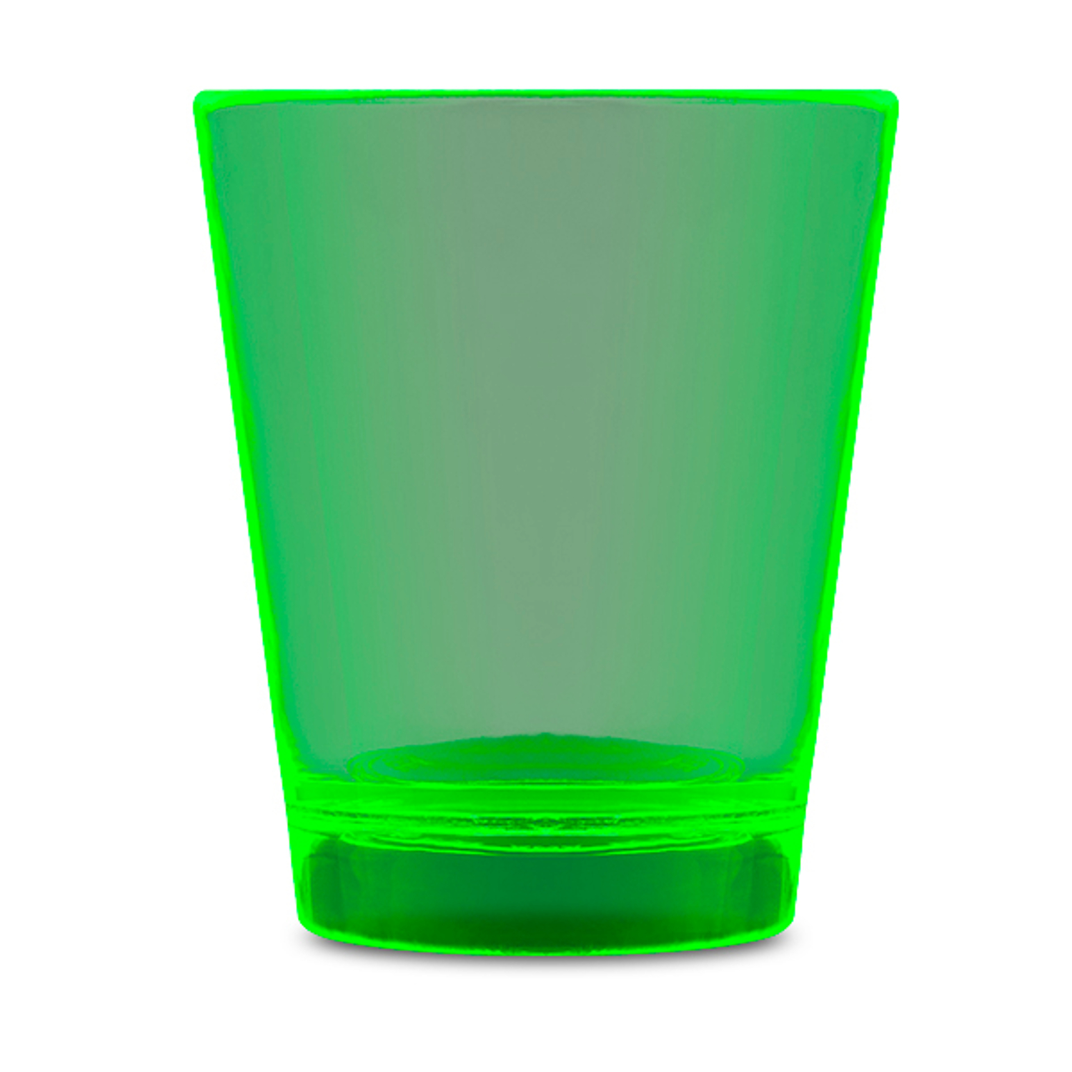 Glow In The Dark Shot Glass Green All Products