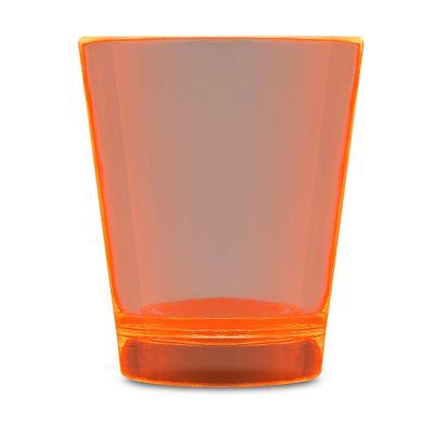 Glow In The Dark Shot Glass Orange Glow-in-the-Dark