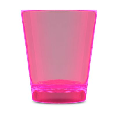 Glow In The Dark Shot Glass Pink Glow-in-the-Dark