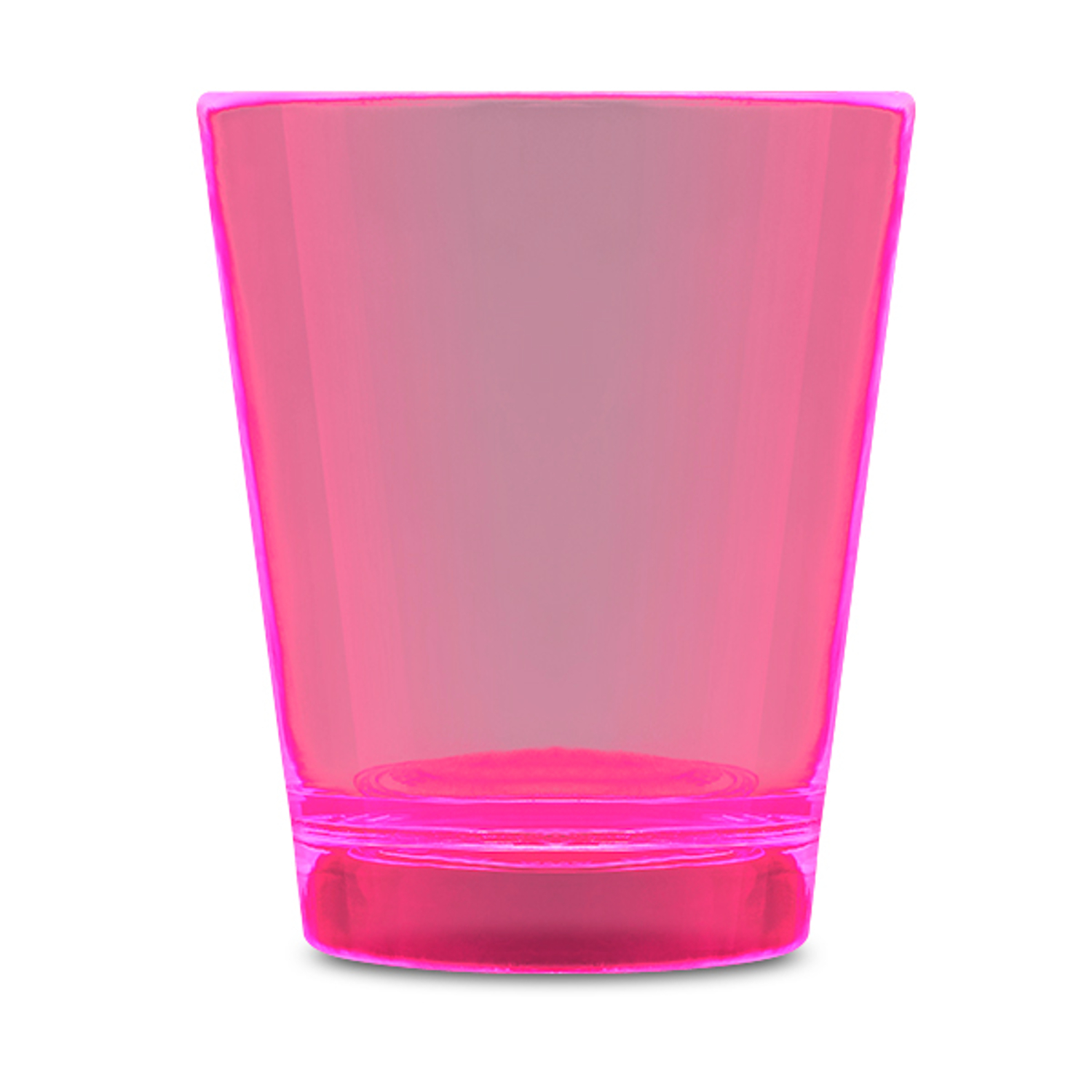 Glow In The Dark Shot Glass Pink All Products