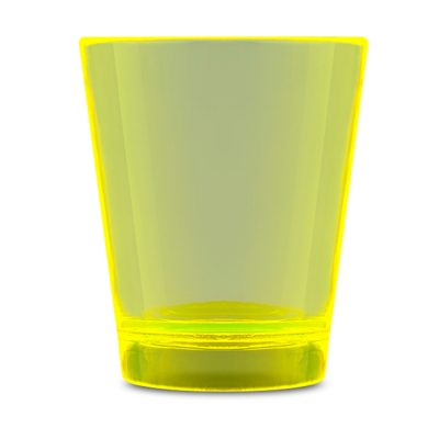 Glow In The Dark Shot Glass Yellow Glow-in-the-Dark