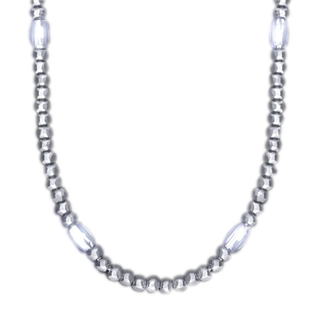 LED Necklace with Silver Beads All Products