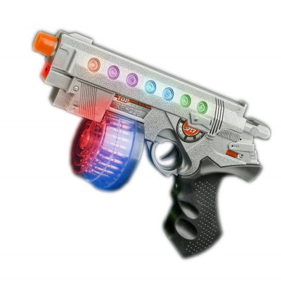 LED Red Laser Toy Hand Gun Light Up Toy Guns