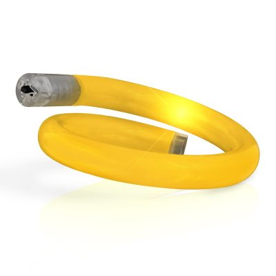 Light Up Tube Bracelet Yellow All Products
