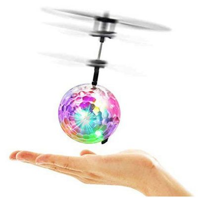 Flying Ball Drone Helicopter Crystal Ball LED Aircraft with Limit Sensor All Products