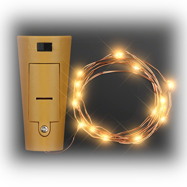 LED Wire Battery Powered Bottle Cork Amber Lights All Products