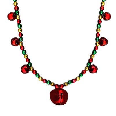 Holiday Jingle Bells Necklace Lighted Christmas Necklaces