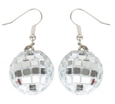 Groovy Disco Mirror Ball Earrings All Products