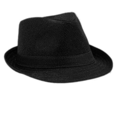Soft Black Fabric Fedora Non Light Up All Products