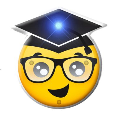 Graduation Face Emoji Light Up LED Party Pin All Body Lights and Blinkees