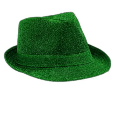 Soft Green Fabric Fedora Non Light Up All Products