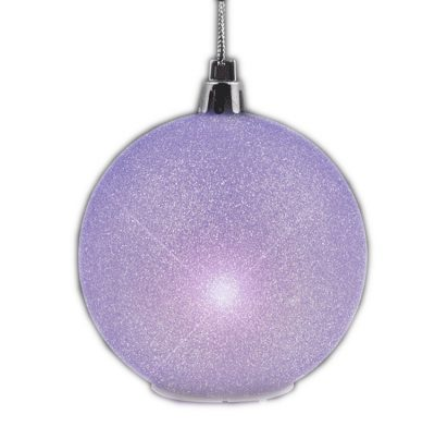 2.5'' Glitter Value Light Hanging Christmas Ornament Decoration All Products