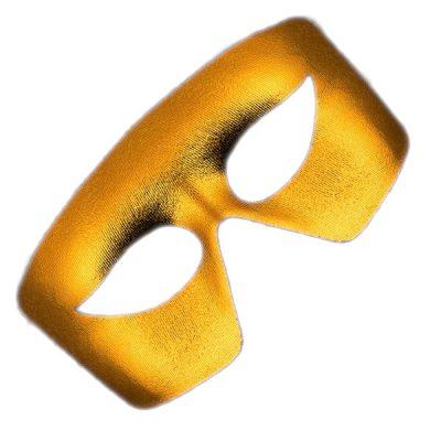 Masquerade Gold Unlit Metallic Mask Mardi Gras All Products