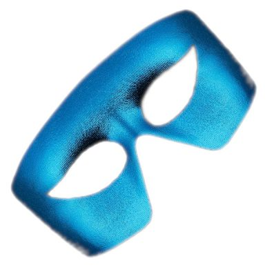 Masquerade Blue Unlit Metallic Mask Mardi Gras All Products