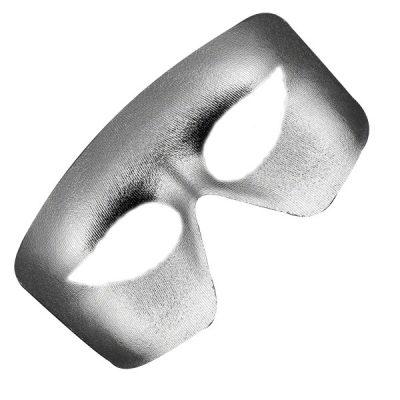 Masquerade Silver Unlit Metallic Mask Mardi Gras All Products