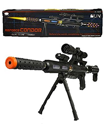 Light Up LED Toy Sniper Rifle All Products