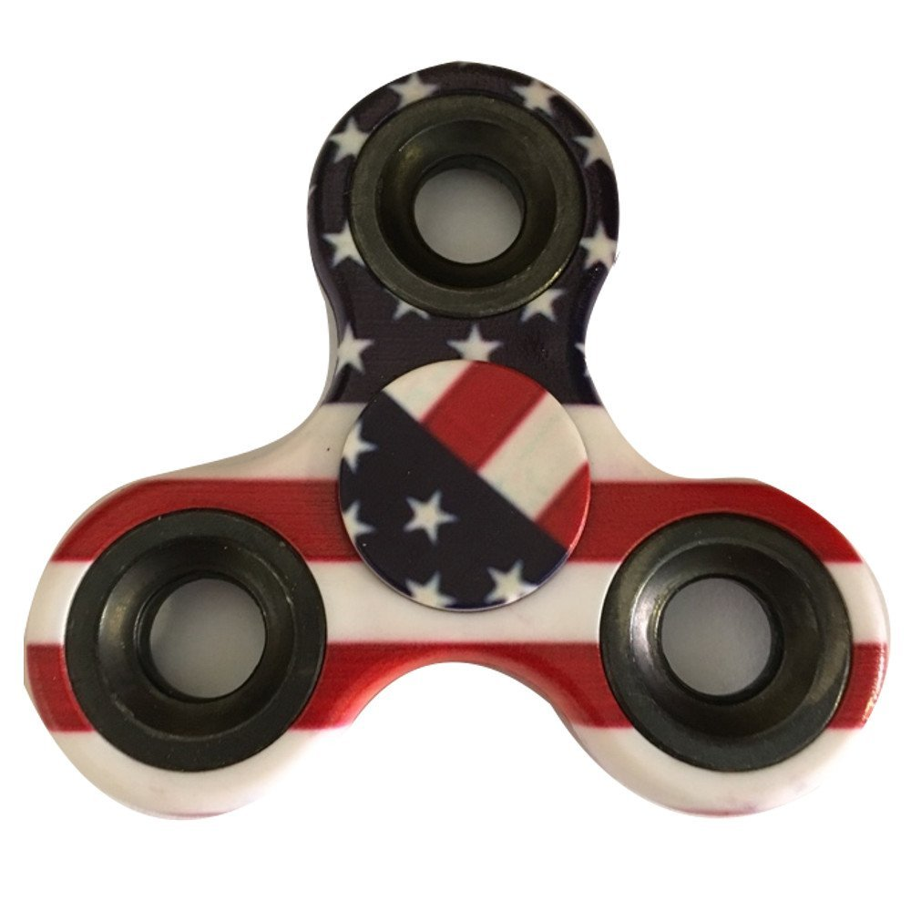 USA Flag Stars and Stripes EDC Fidget Spinner All Products