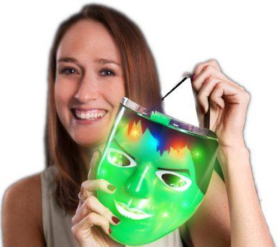 Hulking Superhero Green Light Up Mask All Products