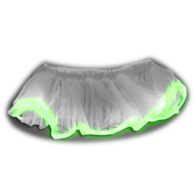 Light up Romantic Twirling Ballerina Tulle Tutu White Skirt with ...