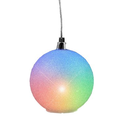Light Up Multicolor Christmas Snowball Decoration All Products