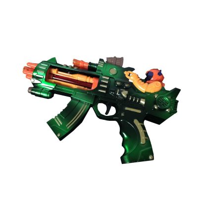 10 Inch LED Flash Light Space Rifle Blaster Gun All Products