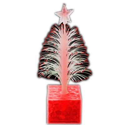 Christmas Tree Fiber Optic Centerpiece Red All Products